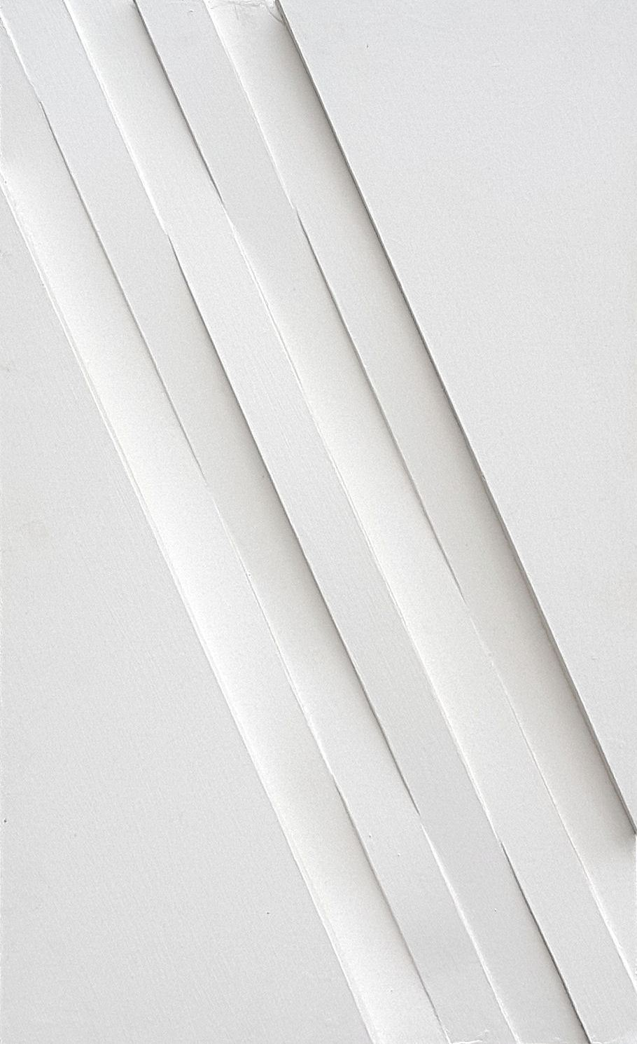 R 122, 2013, MDF witte latex, 320x500 mm